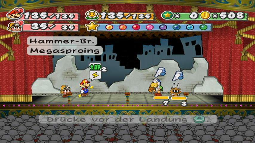 Help Hacking Paper Mario TTYD, Trasitions - gc-forever