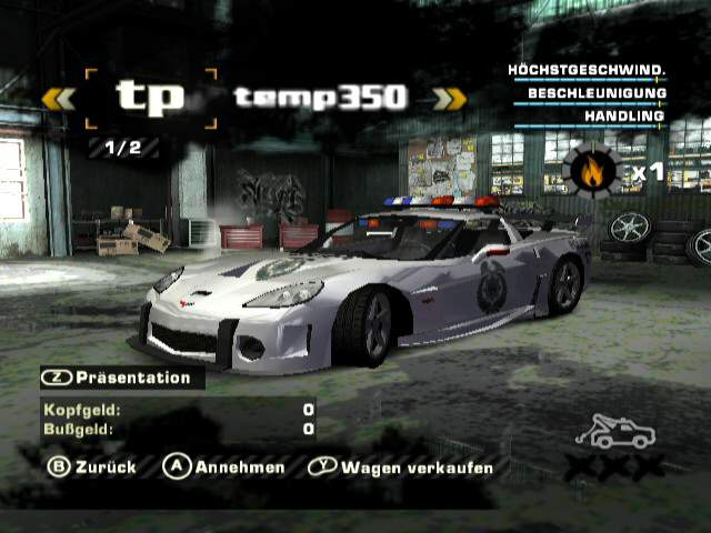 Need For Speed Most Wanted Gcn Wiird Pal Gc Forever