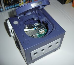 Using a wii drive replacement on a gamecube gc forever wiki for Wii u portable mod
